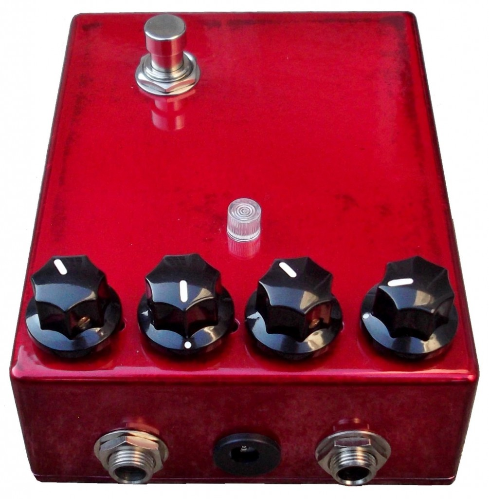 Custom Tuned Dallas Arbiter Germanium Fuzz Face Replica Central Vox Clyde Mccoy Wah Candy Apple Red 1