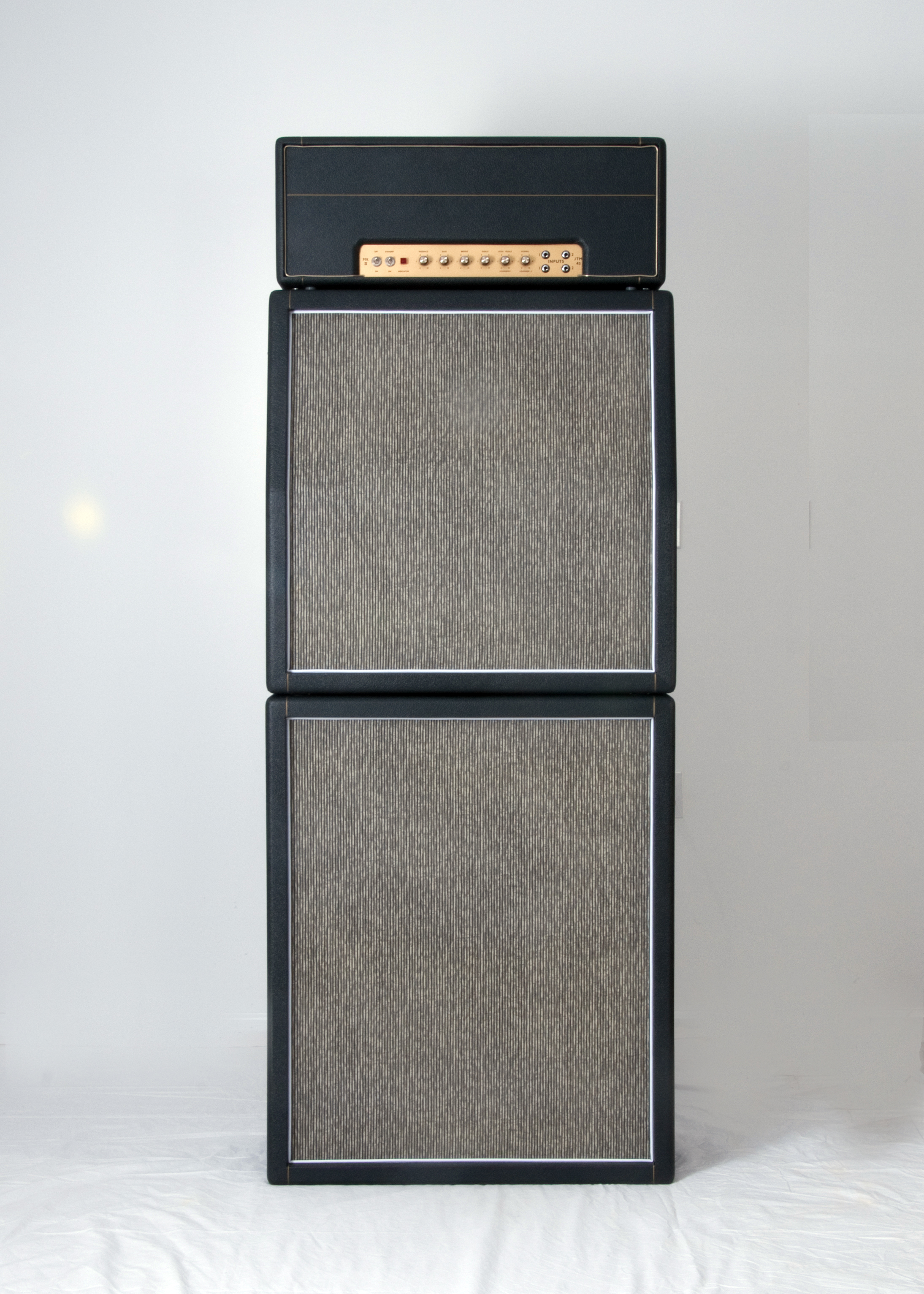1966 Marshall Jtm45 100 Pinstripe Full Stack Replica